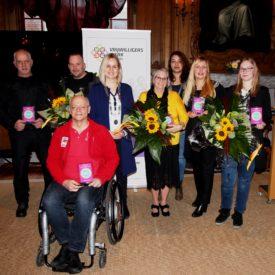 Huldiging Leeuwarder genomineerden Nationale Vrijwilligersprijzen 2020
